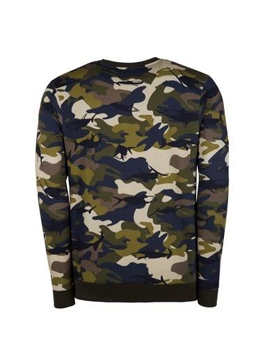 Paul Smith Blue Sweatshirt Yeşil